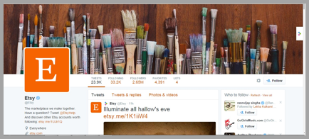Etsy Twitter management tips