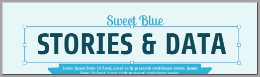 Sweet blue 2 social media content