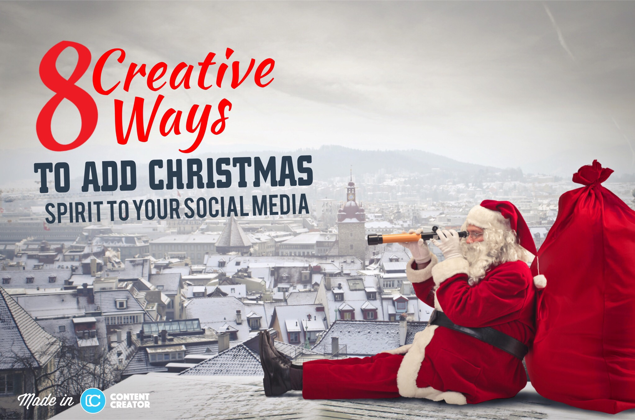 8 Creative Ways To Add Christmas Spirit To Your Social Media