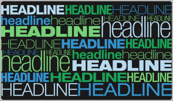 Headlines - tips for blog post writing