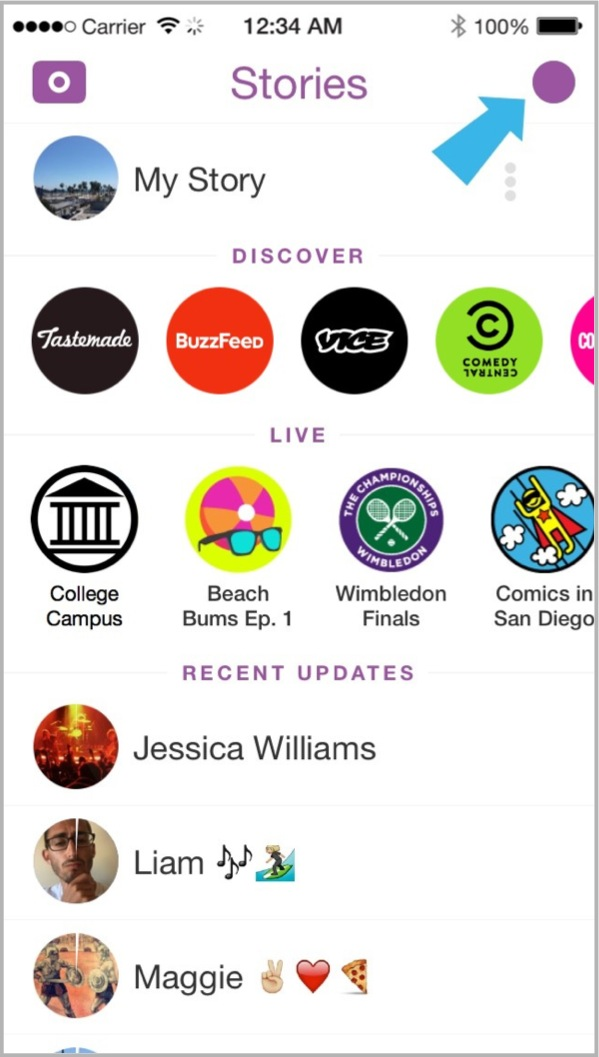 Snapchat 2 alternative to advertising on Facebook
