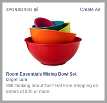 Sponsored mixing bowl example for for social media strategies