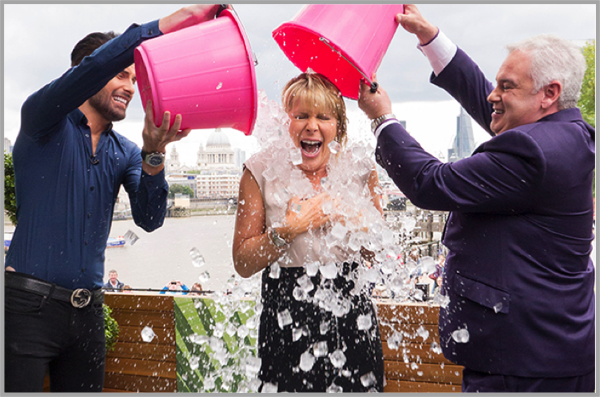 Ice bucket challenge - example of best Facebook marketing campaigns