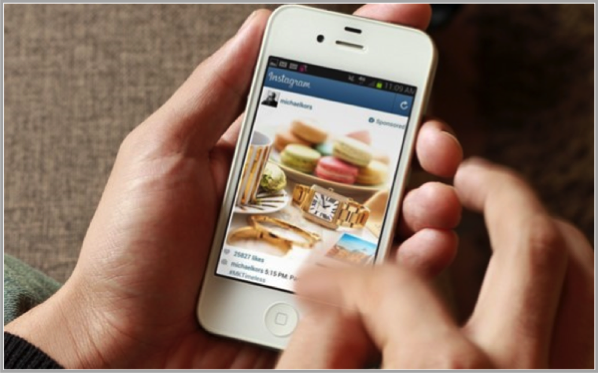 Instagram on mobile for mobile video advertising