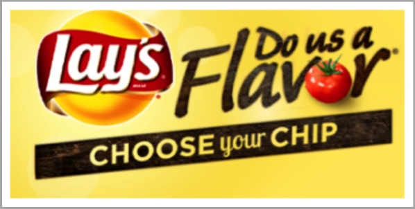 Lays - example of best Facebook marketing campaigns