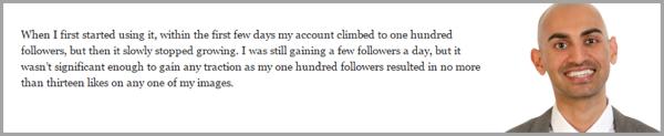 Neil Patel - get more instagram followers