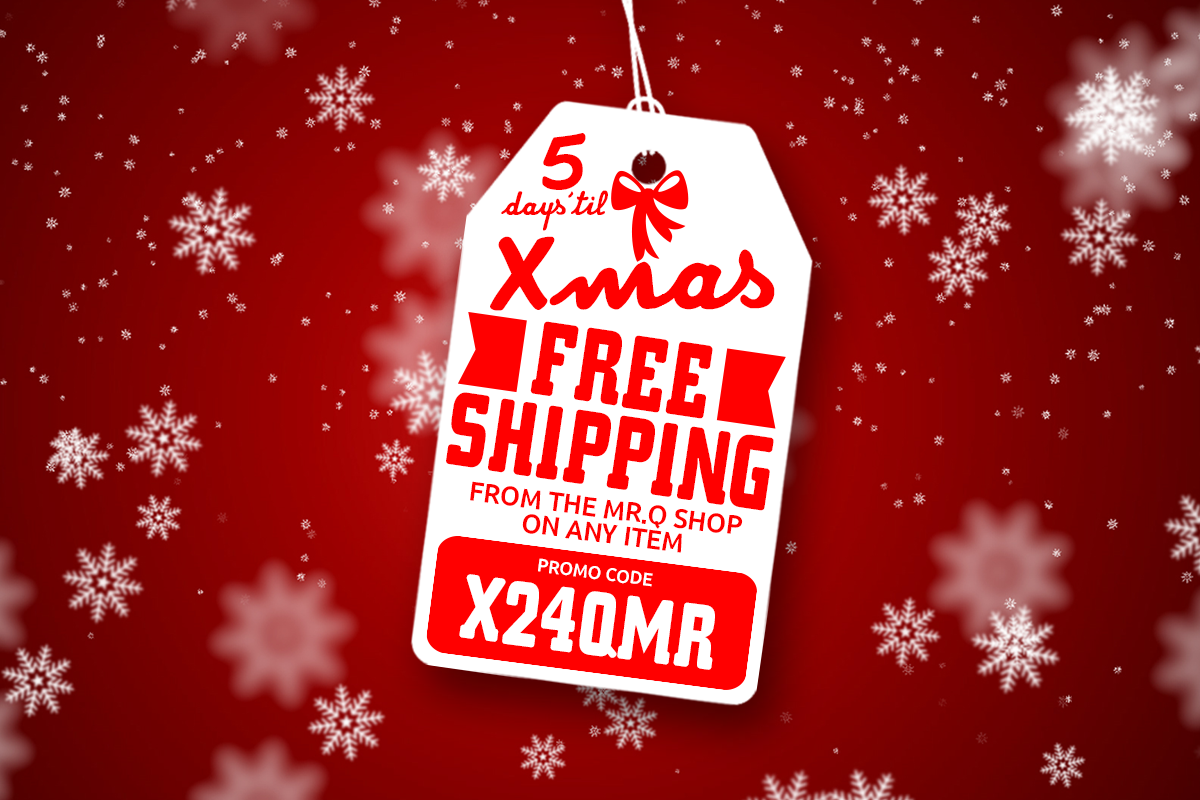 Free shipping - christmas spirit to your social media