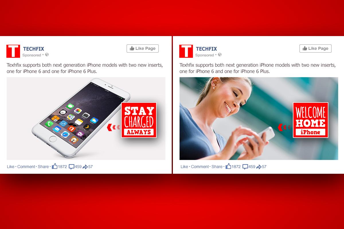 Tech Fix example of Facebook ad design - Image 2