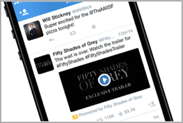 Twitter on mobile for mobile video advertising