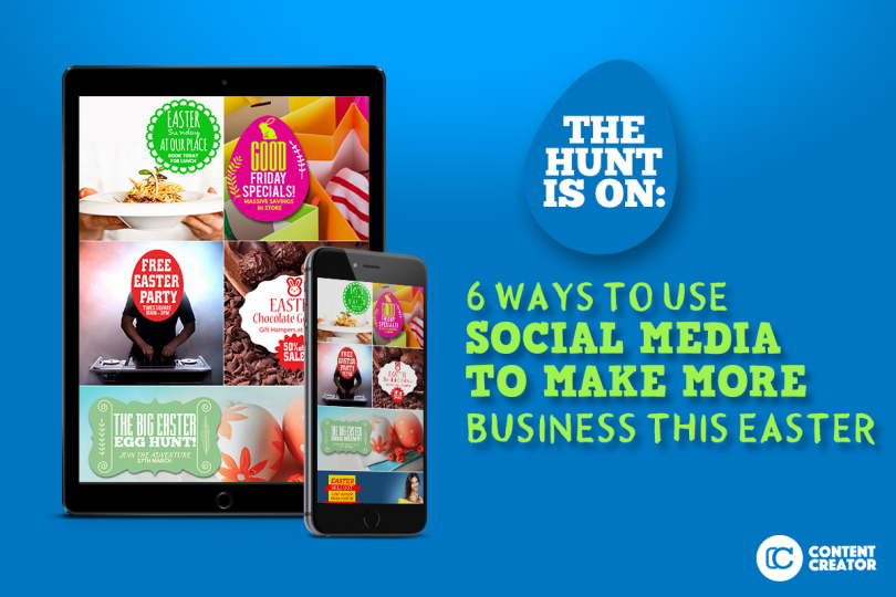 6 ways to use social media to make more business this easter negle Images