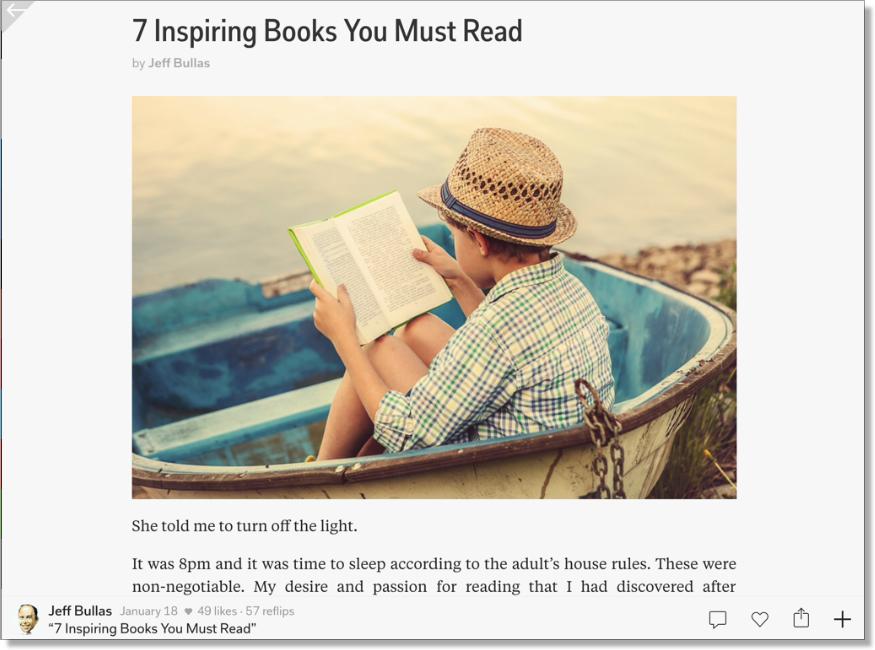 Flipboard magazine 7 Inspiring books