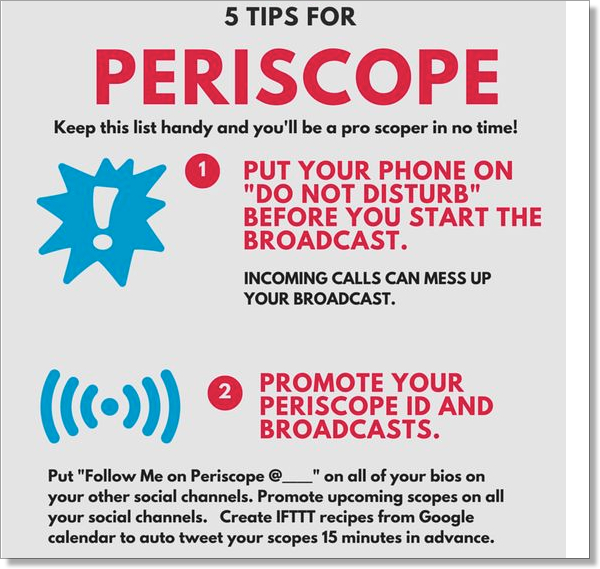 Periscope 5 tips JanLehner.com