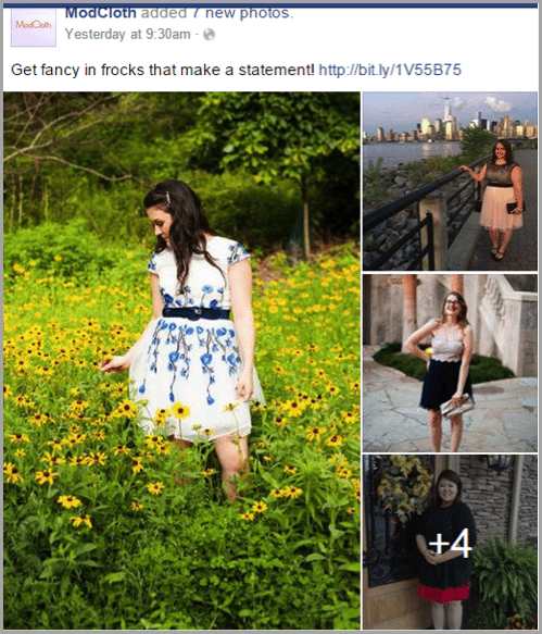 ModCloth - grow your startup with social media