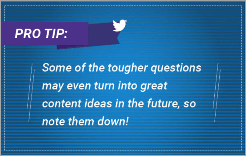 Pro tip 2 - Twitter event