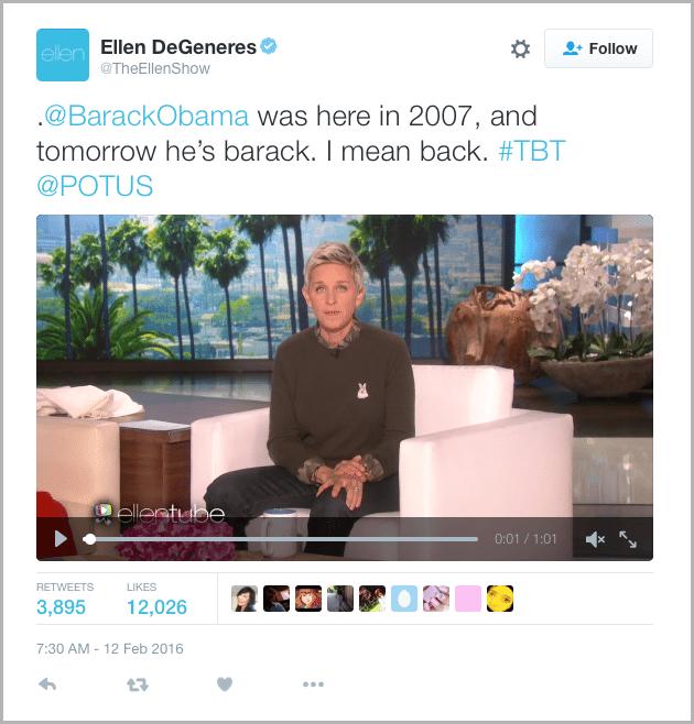 Ellen Tweet - marketing acronyms