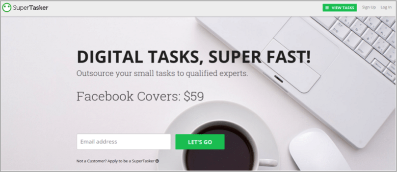 SuperTasker - tool for how to outsource your content creation