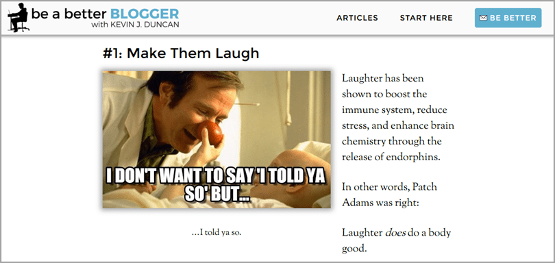 be a better blogger funny brand-related memes for powerful visuals
