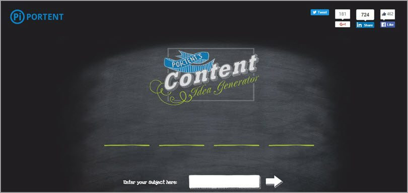 content idea generator image for conversion rate