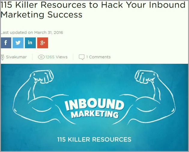 killer resources to hack your inbound marketing success for evergreen content