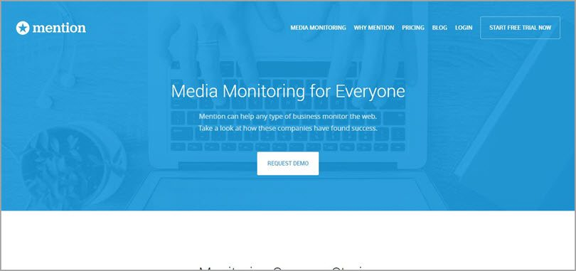 mention media monitoring for conversion rate