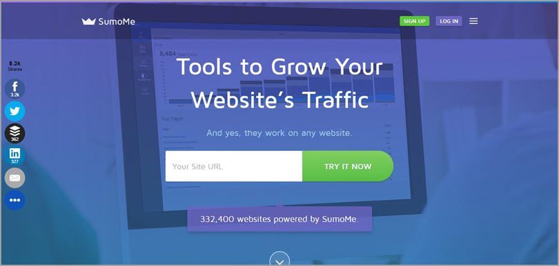 sumome tools to grow your website's traffic image for conversion rate