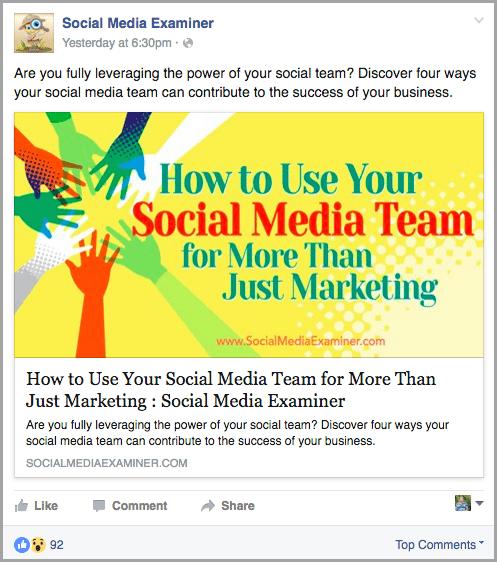snoop around for facebook reactions