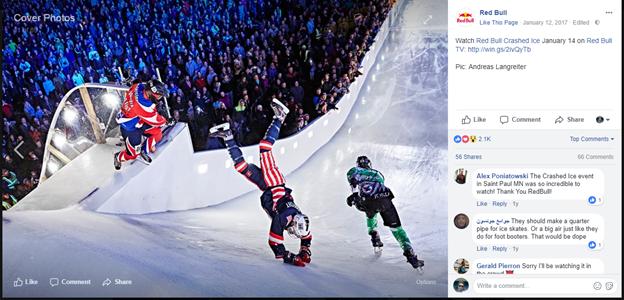 Red Bull - искусство продаж в социальных сетях