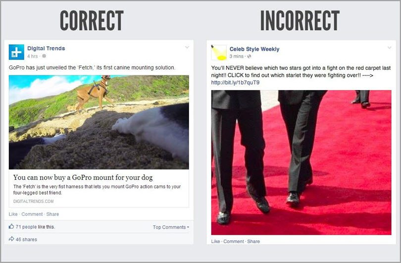be original for facebook marketing mistakes