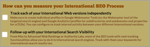 Internationalizing SEO Process for successful digital marketer