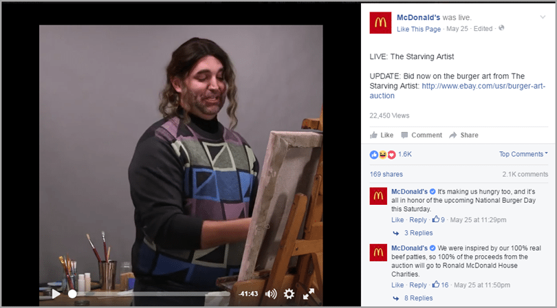 show your event live for Facebook's 24-hour live streaming