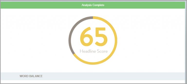 SEO Tool: CoSchedule Headline Analyzer (1)