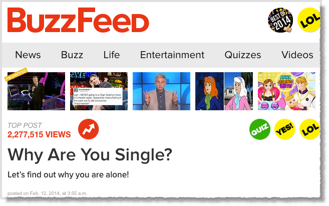 Buzzfeed Knitting Quiz : Brand ideas story style my life how to be a content