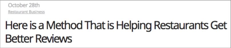 Blog post headline formula - example 7
