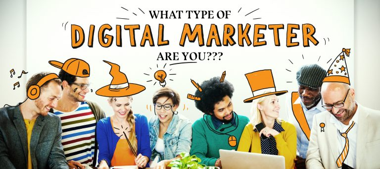 What type off digital marketer are you