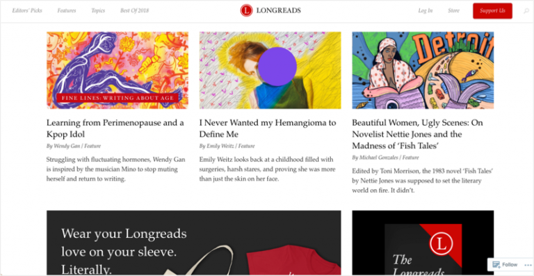 Sites that will pay - Longreads