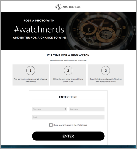 Watchnerds hashtag competition