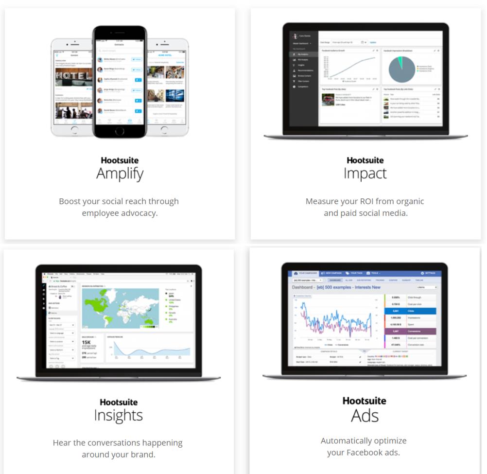HootSuite custom features