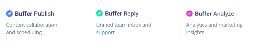 Buffer new features
