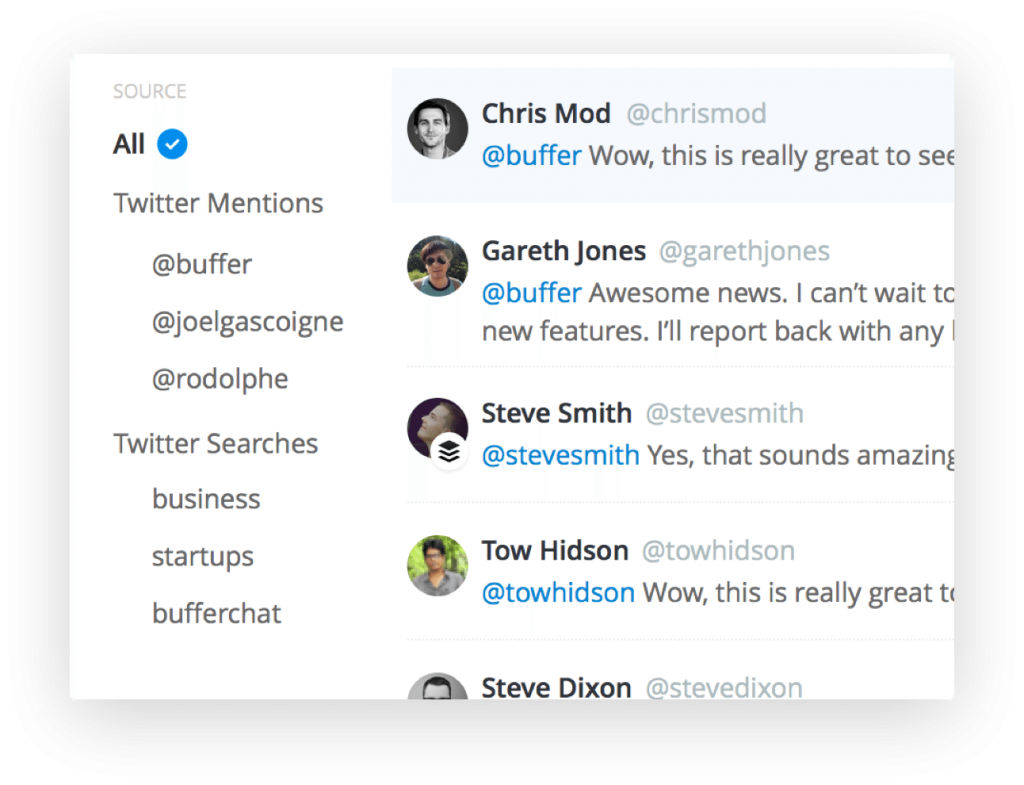 Buffer Reply