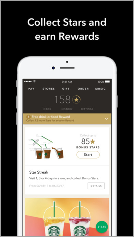 7 ways to unleash the power of gamification in your marketing after 5 stars customers receive special perks as free refills next time they purchase a drink when a person has gained 30 stars they earn a customized fandeluxe Gallery