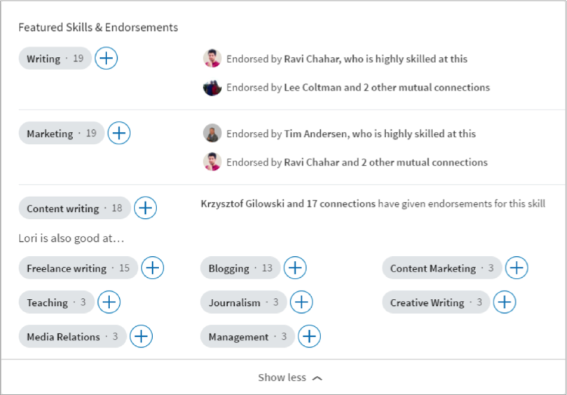 Linkedin profile tip - image 3