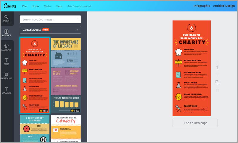 How to promote an ebook when you have no money for advertising you can use free default templates from canva to quickly create a bunch of infographics just make sure you add the ebook cta in your infographics footer fandeluxe Gallery