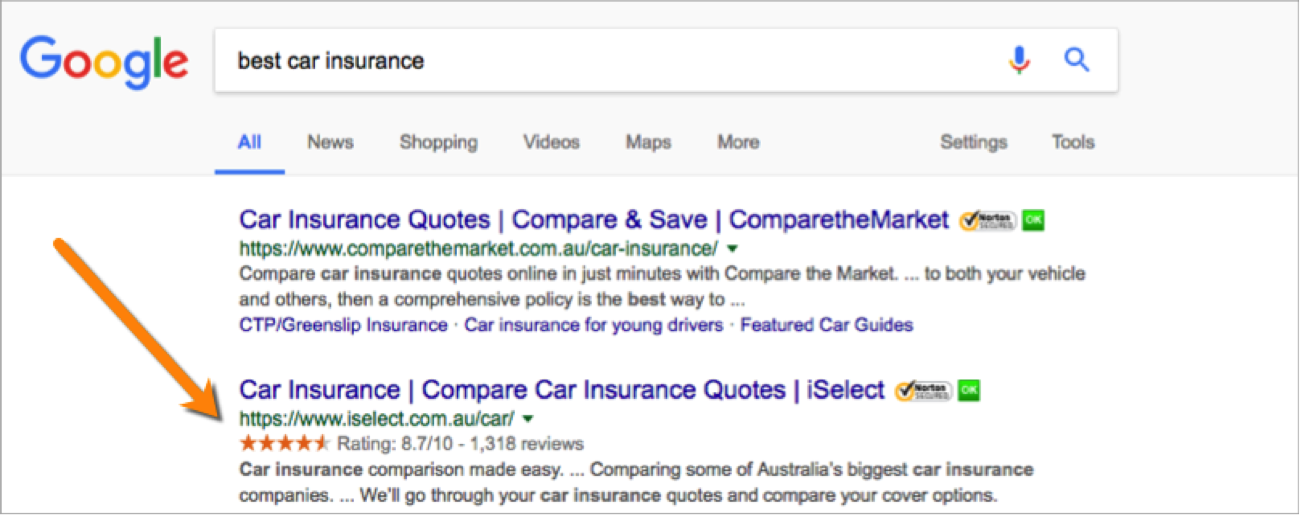 SEO Secrets 2 - car insurance