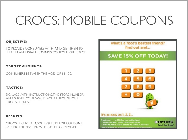 How to use coupon marketing to increase conversion rates in 2018 the company decided to offer 15 discount coupons to lure in existing customers in the age group of 18 to 50 years to buy from its crocslite range fandeluxe Choice Image