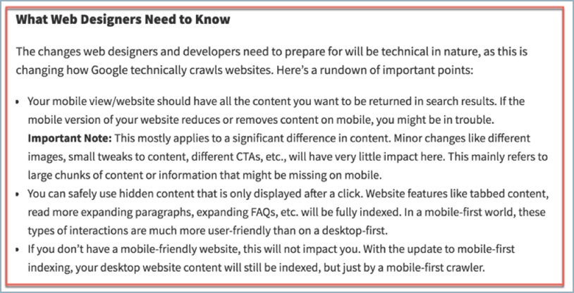 Mobile first indexing image 2
