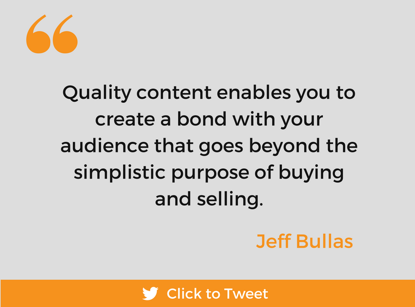 Content Marketing 101 quote 2