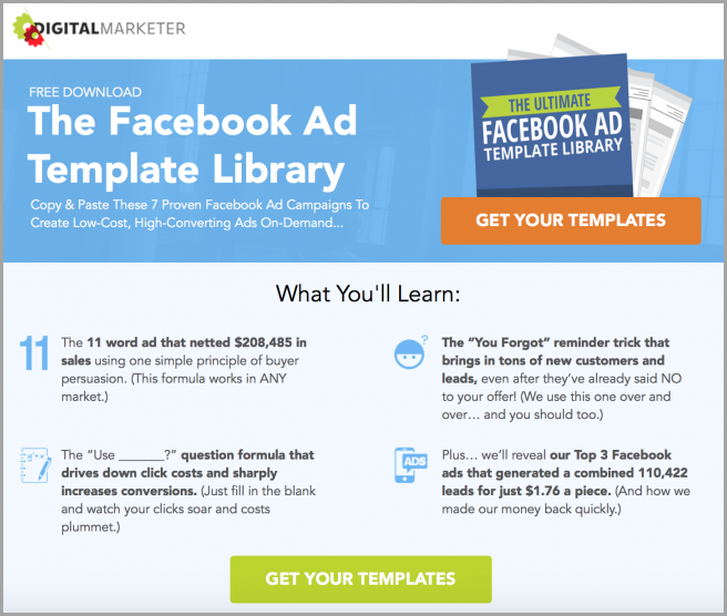 How To Increase Website Traffic A Guide For Beginners - Facebook ad template library