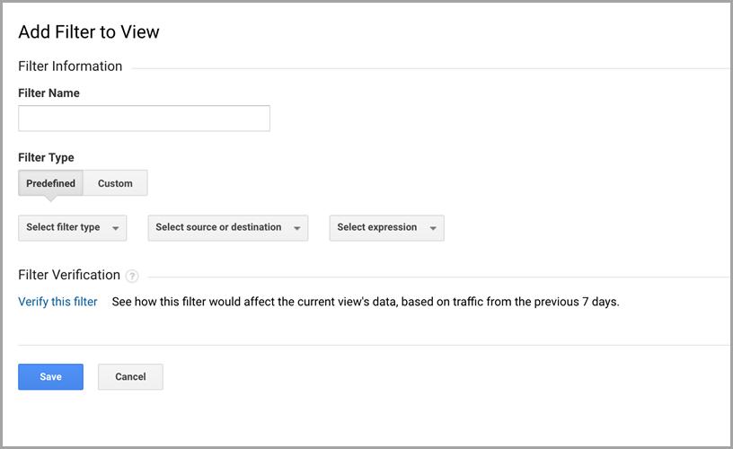 Stop Spam SEO traffic in Google Analytics