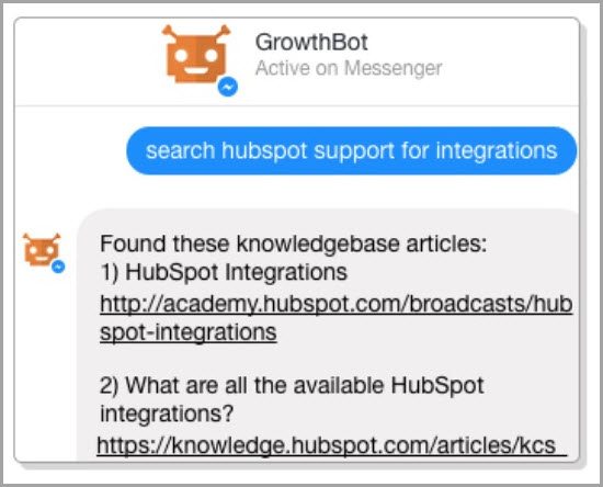More engagement through chatbots