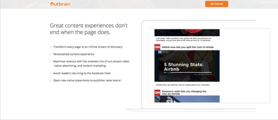 Native ads - Outbrain - Jeffbullas's Blog